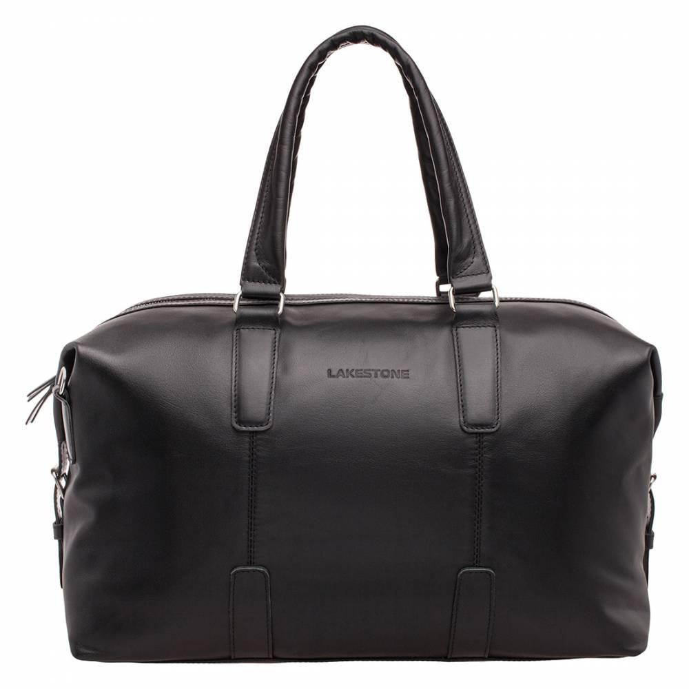 Дорожная сумка Kennard Black&amp;lt;p&amp;gt;Стильная дорожная сука для мужчины, привыкшего путешествовать как на большие, так и на малые расстояния. Это стильный аксессуар, изготовленный из качественной натуральной кожи. Смотрится сумка стильно, дорого и по-мужски надежно. &amp;lt;/p&amp;gt;&amp;lt;p&amp;gt;Удобство транспортировки – это немаловажная характеристика, которая отличает все дорожные сумки. Представленный экземпляр имеет анатомические ручки, которые безупречно ложатся в мужскую ладонь. Кроме того, в комплекте идет сменный плечевой ремень, позволяющий в нужный момент разгрузить руки. &amp;lt;/p&amp;gt;&amp;lt;p&amp;gt;Дно жесткое, имеет дополнительное усиление, сто позволяет изделию отлично держать форму. Внутреннее пространство очень просторное, имеет отсек для ноутбука или планшета, карман открытого типа. С такой сумкой не страшны любые, даже самые дальние дороги.&amp;lt;/p&amp;gt;<br>