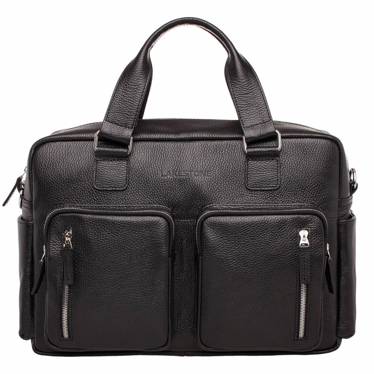 Деловая сумка большого объема Kingston Black