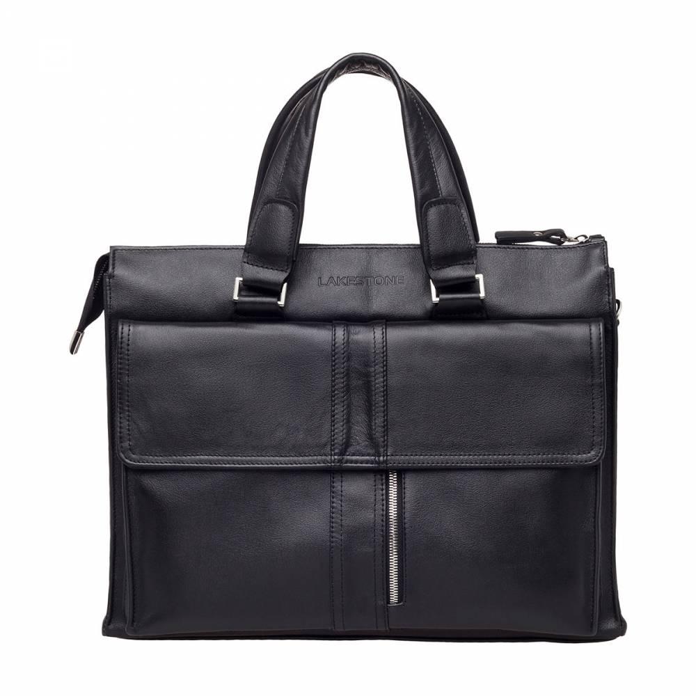 Деловая сумка Langton Black&amp;lt;p&amp;gt;Очень необычная, стильная и самобытная модель. Представленное изделие отлично подойдет практически под любой образ, созданный деловым мужчиной. Отличительная черта этого аксессуара - строгость и четкость линий, а также безукоризненный дизайн. Сумка однозначно привлечет внимание коллег по работе и бизнес-партнеров, но произойдет это достойно и ненавязчиво, как и подобает дорогому и солидному мужскому аксессуару.&amp;amp;nbsp;&amp;lt;/p&amp;gt;<br>