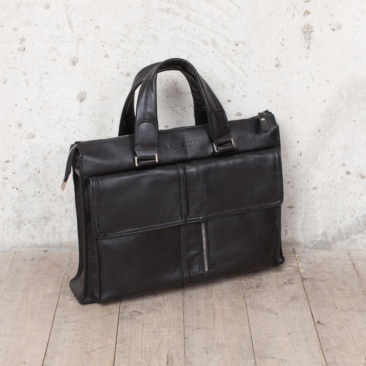 Деловая сумка Langton Black