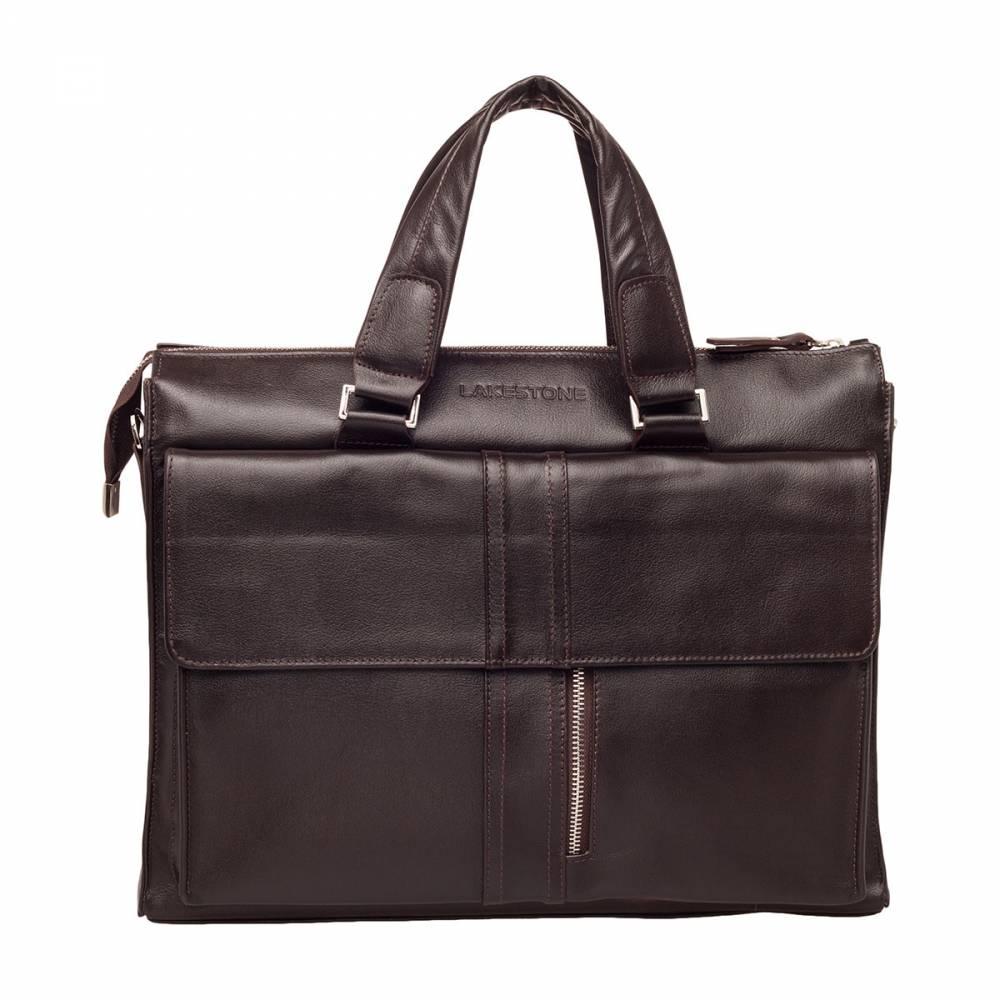 Деловая сумка Langton Brown&amp;lt;p&amp;gt;Очень стильная и качественная сумка, которая без труда впишется в любой образ современного делового мужчины. Такой аксессуар в состоянии выбрать молодой человек, обладающий безукоризненным чувством стиля. Чего только стоит насыщенный коричневый цвет натуральной кожи и стильная металлическая молния на переднем кармане сумки. Разработчики действительно потрудились над созданием этой модели и их труды не останутся незамеченными. Любой мужчина, следящий за современными тенденциями в мире, но ценящий качество и надежность выберет именно эту деловую сумку. иных вариантов просто не может быть.&amp;amp;nbsp;&amp;lt;/p&amp;gt;<br>