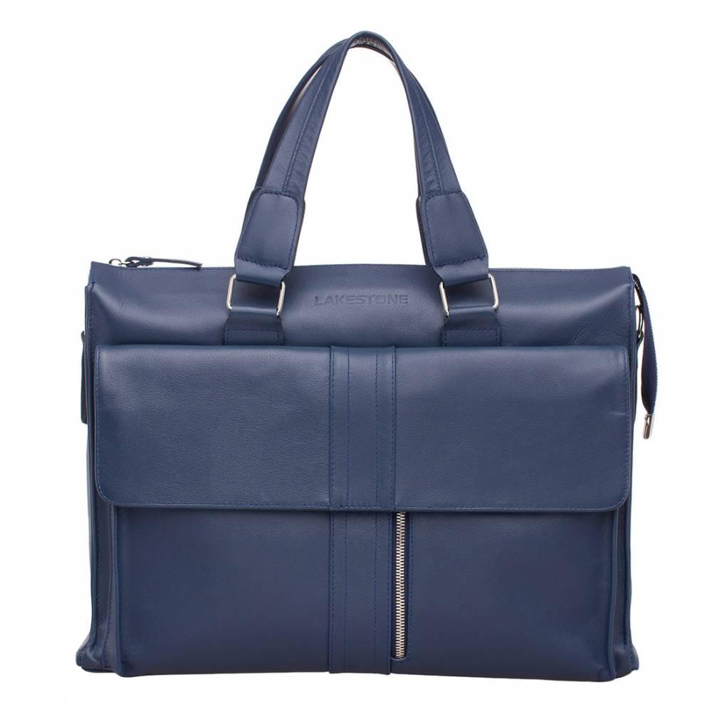 Деловая сумка Langton Dark Blue&amp;lt;p&amp;gt;Деловая сумка в синем цвете – аксессуар для мужчин, ценящих качественные вещи. Изделие отличается безупречным стилем и безукоризненно выверенным дизайном. Сумка станет отличным дополнением к строгому костюму и доведет образ до совершенства. &#13; Элементы декора ненавязчивы, не бросаются в глаза, но с первого взгляда становится заметно, что над вещью поработали дизайнеры. Коллеги по работе и деловые партнеры по достоинству оценят аксессуар, который по праву достоин восхищения. &#13; &amp;lt;/p&amp;gt;<br>