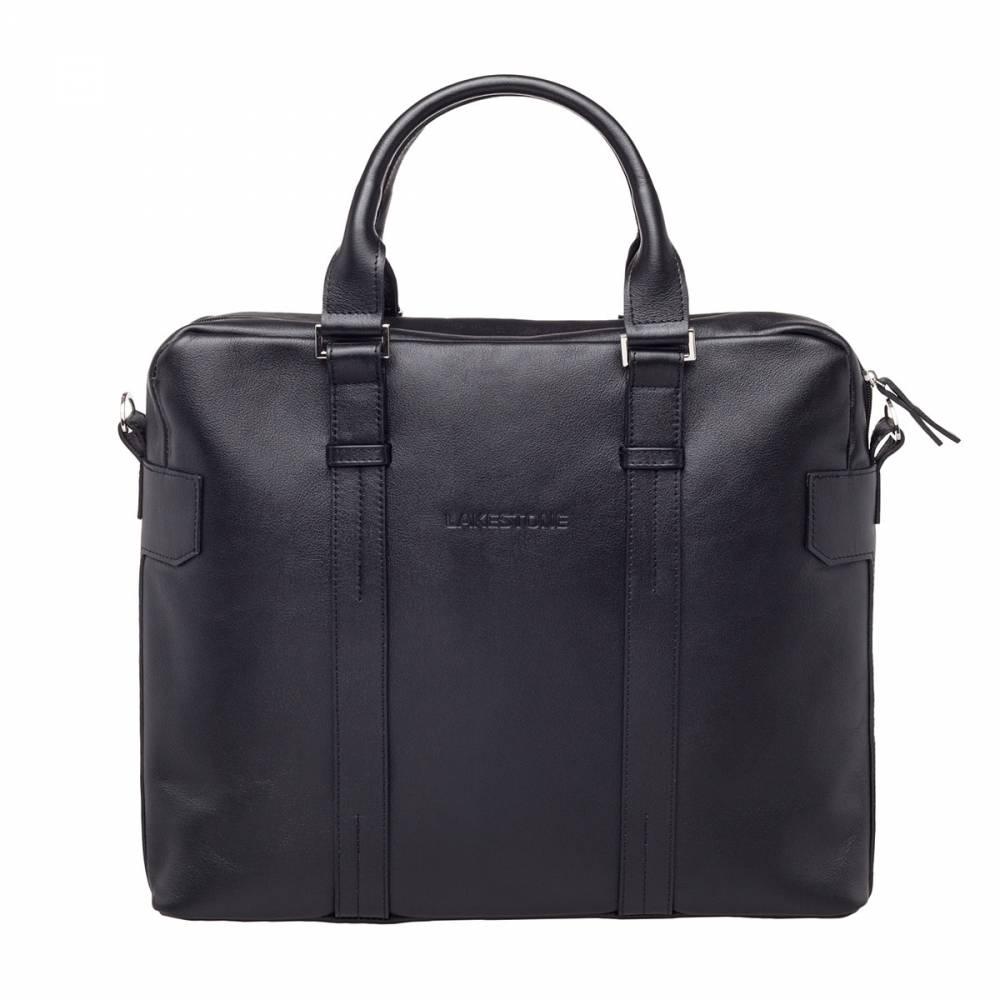 Деловая сумка Lichfield Black&amp;lt;p&amp;gt;Современный мужчина, который следит за своим внешним видом и заботится о том, какое впечатление он создает для окружающих, обязательно уделяет внимание своей сумки. Представленная модель однозначно позволит воплотить в реальность образ солидного и преуспевающего бизнесмена. Однако, привлекательный вид аксессуара - это далеко не единственная положительная характеристика сумки. Она пошита из натуральной кожи, ей очень комфортно пользоваться. Кроме того, это изделие идеально подходит для хранения важных бумаг и необходимой в работе техники (ноутбука или планшета). Поэтому выбор вполне очевиден - такую сумку нужно брать. &amp;amp;nbsp;&amp;lt;/p&amp;gt;<br>