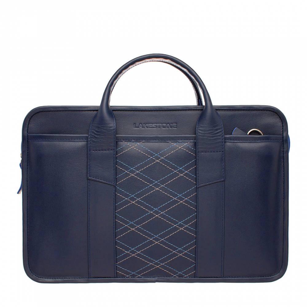 Фото - Деловая сумка Marion Dark Blue Rhombus