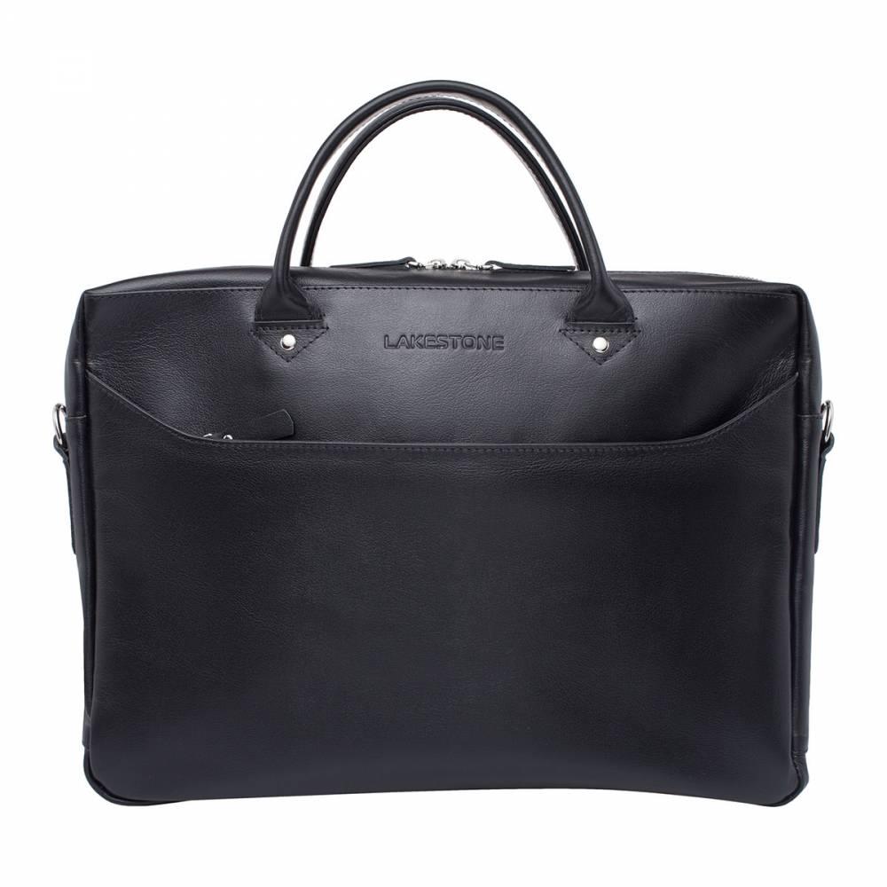 Деловая сумка Morley BlackОригинальное изделие для мужчин, знающих цену качественным&#13; кожаным аксессуарам. Эта сумка подойдет тем представителям сильного пола,&#13; которые отлично понимают, что место для хранения личных вещей должно быть&#13; достойным своего обладателя. Аксессуар настолько самодостаточный, что ему не требуется&#13; лишних деталей для привлечения внимания. Да и в каких дополнениях может&#13; нуждаться качественная натуральная кожа, обработанная умелыми руками мастера?&#13; Пожалуй, больше не нужно лишних слов.<br>