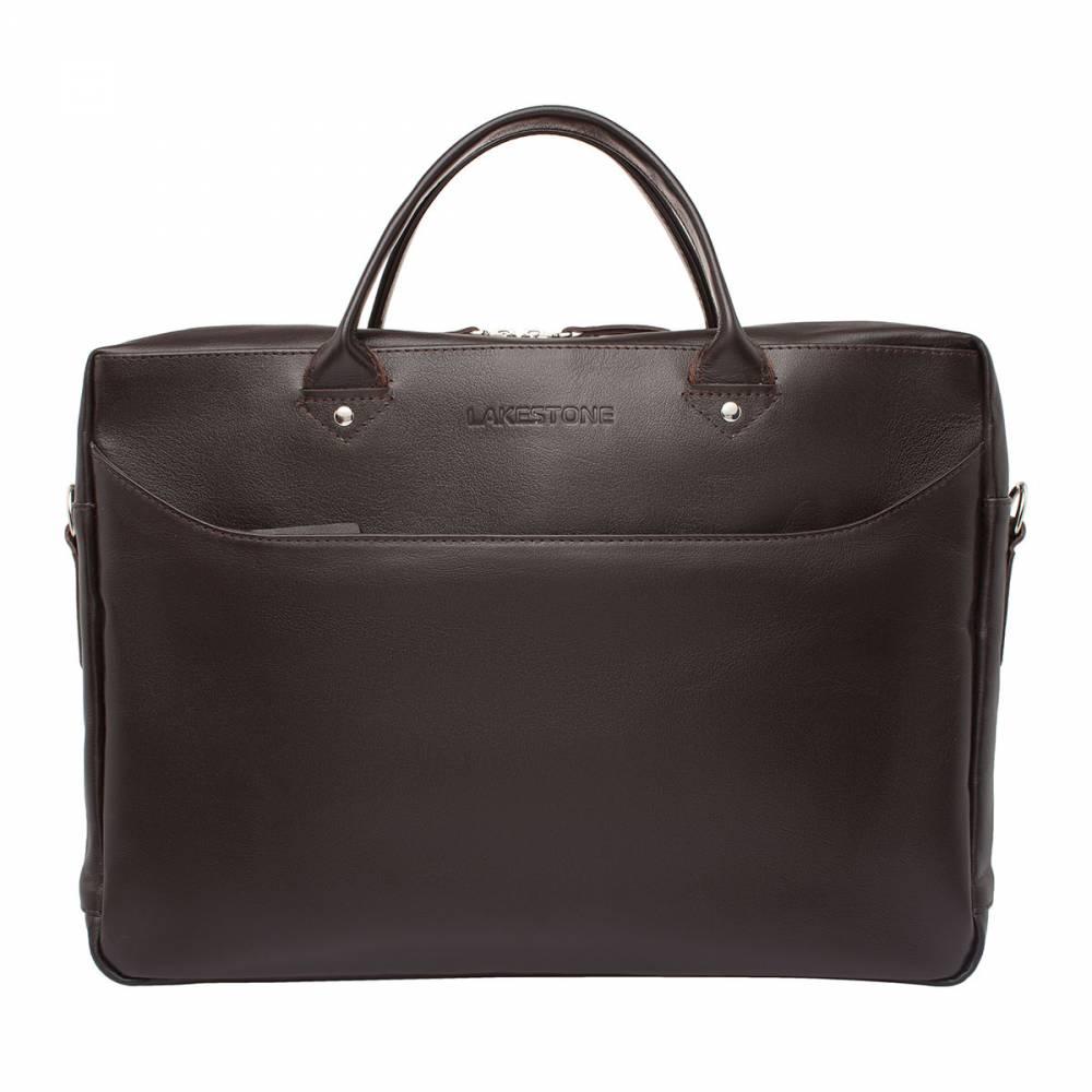 Деловая сумка Morley BrownЛюбой мужской аксессуар просто обязан быть&#13; самодостаточным и солидным, подчеркивающим статус своего обладателя. Изделие изготовлено из натуральной кожи, дополнено&#13; качественной металлической молнией и удобными анатомическими ручками. Сумкой&#13; очень комфортно пользоваться на протяжении всего трудового дня, ведь в ней&#13; найдется место для всего, начиная от ноутбука в 15 дюймов по диагонали и&#13; заканчивая толстой папкой деловых бумаг. Выполнено изделие вручную, поэтому в&#13; его качестве можно не сомневаться.<br>