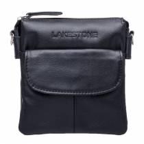 Небольшая кожаная сумка через плечо Osborne Black