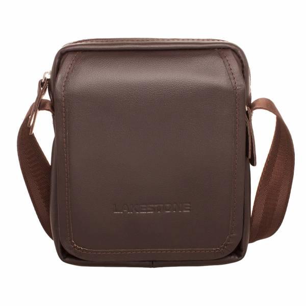 Небольшая кожаная сумка через плечо Parker Brown