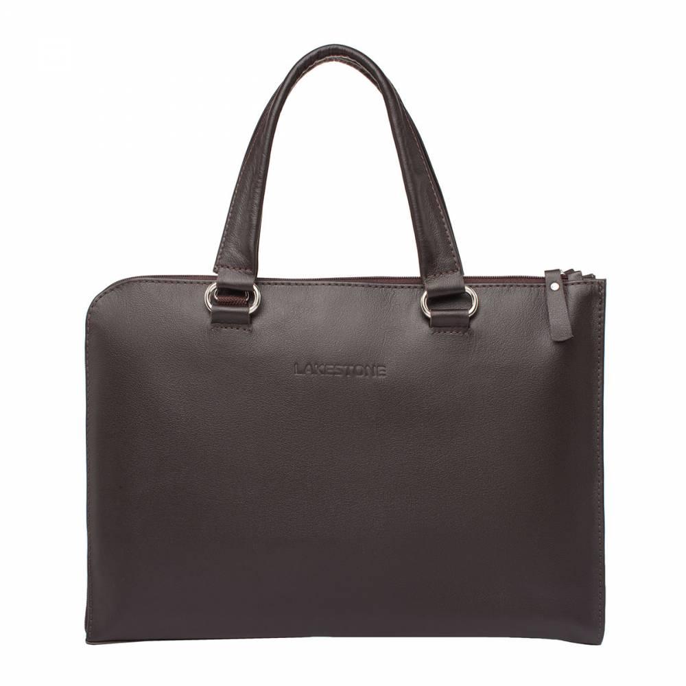 Деловая сумка-папка Randall BrownСтильная сумка-папка ручной работы – аксессуар, который&#13; должен быть у каждого мужчины. Это универсальное изделие, которое способно&#13; вместить в себя не только необходимые документы, но и ноутбук до 13,3 дюймов в&#13; диагонали. Сумка раскрывается на 180 градусов, на одной стороне имеется&#13; удобный карман на молнии. Кроме того, найдется место для пластиковых карт, для&#13; смартфона и для канцелярии. Аксессуар изготовлен из кожи высшей пробы о чем&#13; наглядно свидетельствует ее природный рисунок.<br>