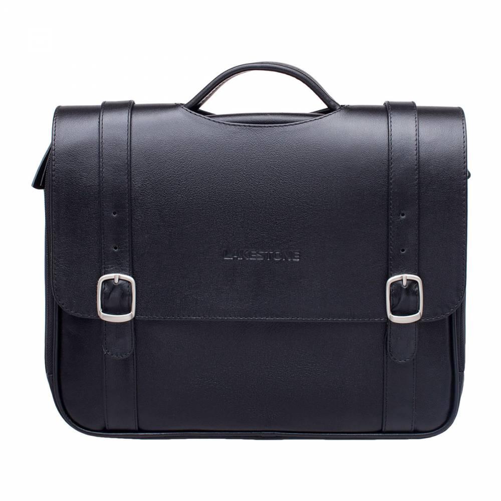 Портфель Redcliff BlackУдобный и поражающий своим&#13; дизайном мужской портфель. Уже давно канули в Лету скучные жесткие портфели на&#13; классических замках-защелках. Их вытесняют современные, стильные и динамичные&#13; аксессуары из натуральной кожи. Заслуживает внимания то, как&#13; создатели модели решили обыграть ручку, с помощью которой переносится портфель.&#13; Оригинальный вырез притягивает взгляды. Очень смелое решение для портфеля,&#13; который призван стать помощником делового мужчины в его повседневной работе.&#13; Внутреннее отделение представлено двумя отсеками на молнии, которые позволят с&#13; комфортом разместить все необходимые вещи.<br>