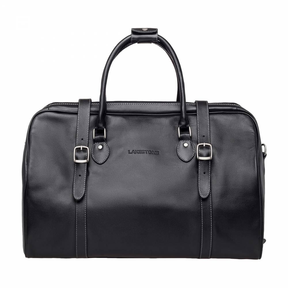 Дорожная сумка Sandford Black&amp;lt;p&amp;gt;Дорожная сумка - незаменимая вещь для мужчины, который часто путешествует и во время таких поездок решает важные дела. С таким аксессуаром можно создать солидный и строгий образ человека, который следит за своим внешним видом и за своими вещами. Кроме того, что эта сумка очень стильная, она очень удобная. ее можно без проблем транспортировать и с помощью мягких ручек и с помощью плечевого ремня. в тот момент, когда в нем отпадает необходимость, ремень всегда можно отстегнуть. Одно просторное отделение даст возможность поместить в сумку очень много вещей. Поэтому не стоит медлить с покупкой.&amp;amp;nbsp;&amp;lt;/p&amp;gt;<br>