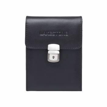 Небольшая кожаная сумка для документов Tormarton Black
