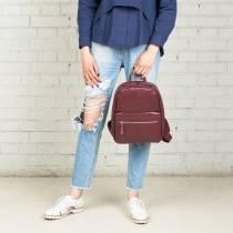 Женский рюкзак Trinity Burgundy