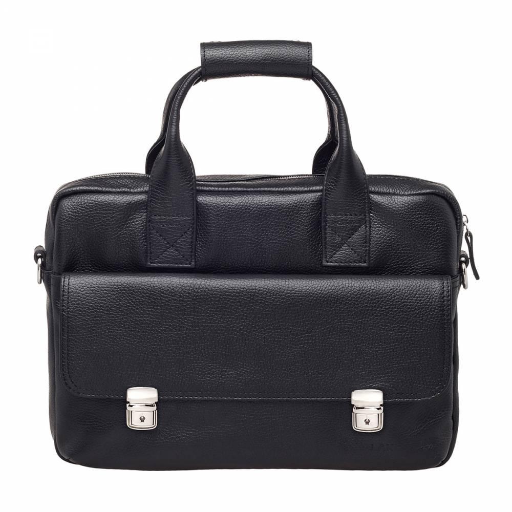 Деловая сумка Tyler Black&amp;lt;p&amp;gt;Интересная и удобная деловая сумка. Любой мужчина, который разбирается в качественных аксессуарах обязательно обратит на эту модель свое внимание. Что же так привлекает в этой сумке представителей сильного пола? Ответ лежит на поверхности: изделие строгое, но не скучное, оно вместительное, но при этом не занимает много места. И, наконец, качество аксессуара на высоте. Поэтому зачем искать что-то лучшее, если оно уже перед Вами.&amp;amp;nbsp;&amp;lt;/p&amp;gt;<br>
