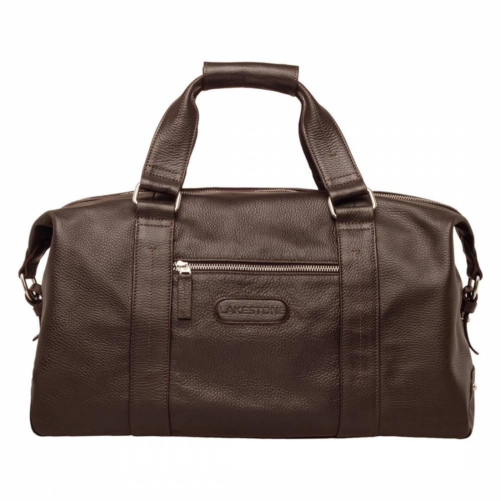 Дорожная сумка Woodstock Brown&amp;lt;p&amp;gt;Удобная сумка для путешествий или занятия спортом. С таким аксессуаром мужчина будет чувствовать себя уверенно, ведь он обладает достаточной вместительностью и презентабельным внешним видом. Сумка оснащена анатомическими ручками, которые ложатся в ладонь и не нарезают ее, несмотря на вес изделия. В отличии от большинства изделий данного ряда, представленная модель не только вместительная, но и стильная.&amp;amp;nbsp;&amp;lt;/p&amp;gt;<br>