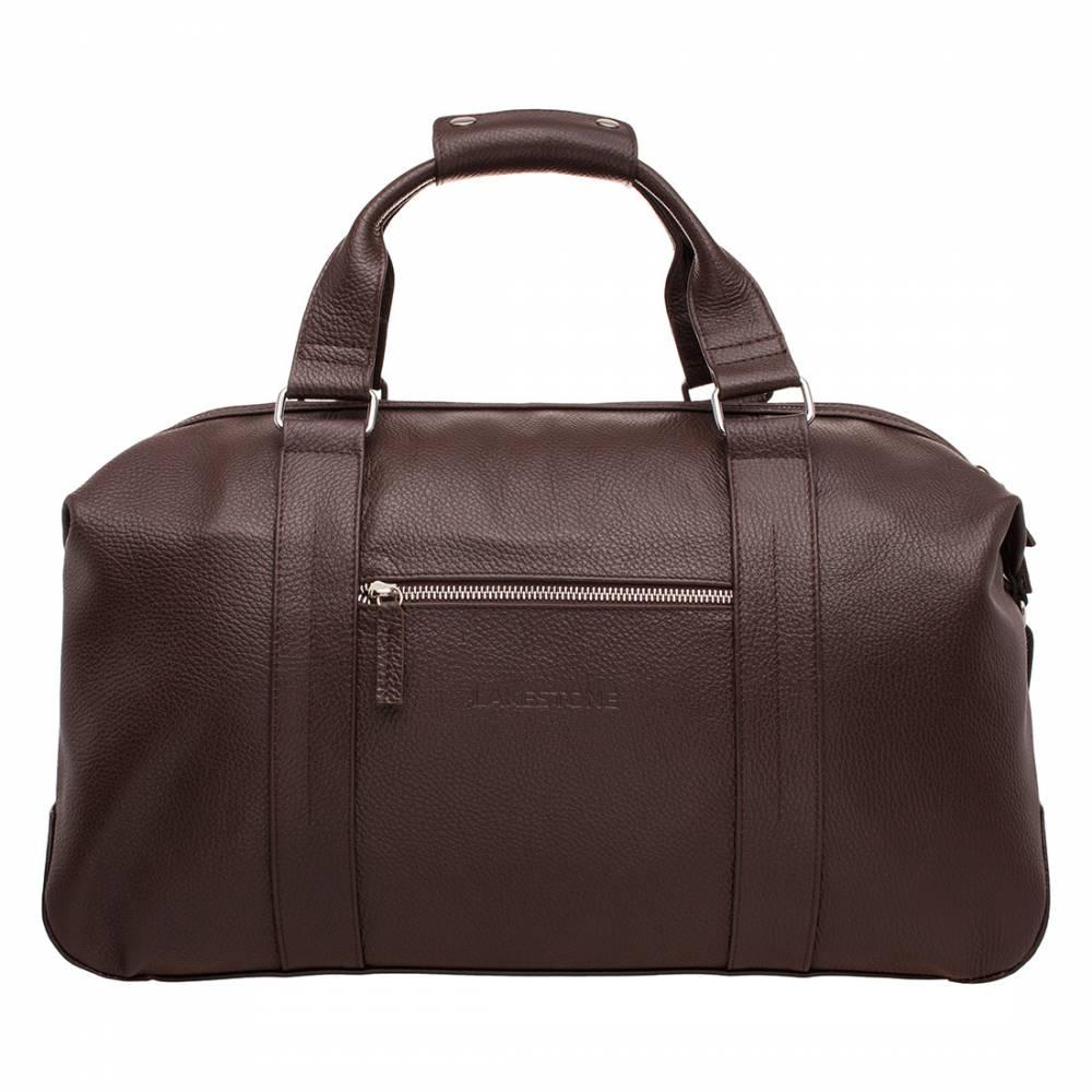 Дорожно-спортивная сумка Woodstock Brown&amp;lt;p&amp;gt;Удобная сумка для путешествий или занятия спортом. С таким аксессуаром мужчина будет чувствовать себя уверенно, ведь он обладает достаточной вместительностью и презентабельным внешним видом. Сумка оснащена анатомическими ручками, которые ложатся в ладонь и не нарезают ее, несмотря на вес изделия. В отличии от большинства изделий данного ряда, представленная модель не только вместительная, но и стильная.&amp;amp;nbsp;&amp;lt;/p&amp;gt;<br>